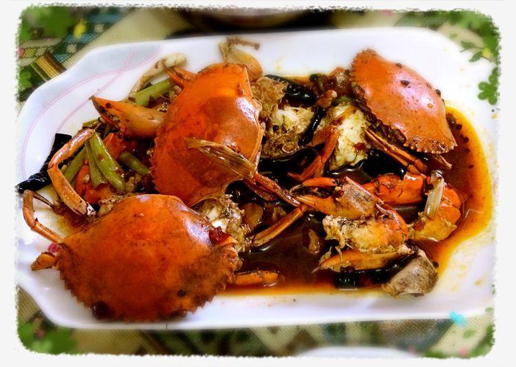 香辣蟹 stirred crab with peppers Oneofbillionreasonsileavehomenot Papasdish Magic