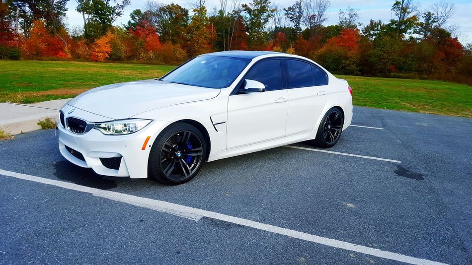 Finally got the whip blacked out today!! Tint M3 2015  Twinturbo 0-100