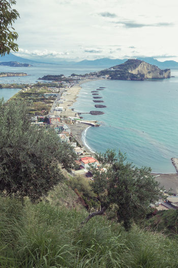 Miseno cape in the bay of Naples Cape Town Bay Of Naples, Italy. Bay Of Water Beach Flora Holiday Horizon Miseno  No People Sea Town Colour Your Horizn
