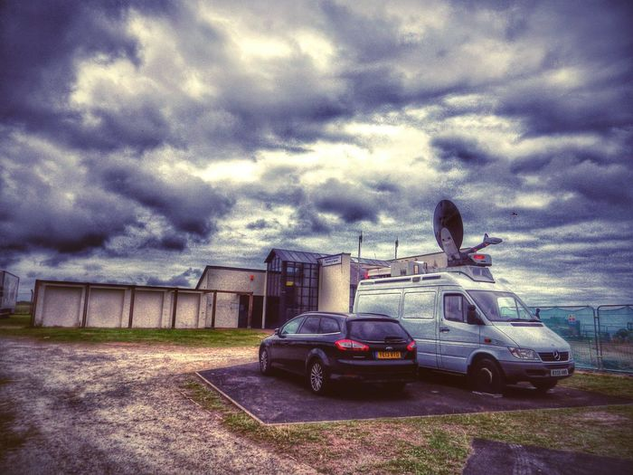 Wales Photography Taking Photos Check This Out Random Urbanexploration Vehicles Edited Randomshot Clouds