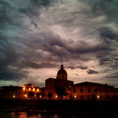 Rainy skies of Florence