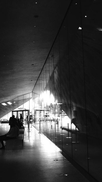 Black & White Architecture_bw Blackandwhite Photography Black And White The Broad Monochrome The Broad Museum Bnw