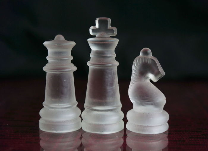 Leisure Games Board Game Game Chess Chess Piece Strategy Relaxation Leisure Activity White Color No People Close-up Indoors  Chess Board Arts Culture And Entertainment Still Life Knight - Chess Piece Challenge Large Group Of Objects Competition Focus On Foreground Queen - Chess Piece King - Chess Piece Pawn - Chess Piece