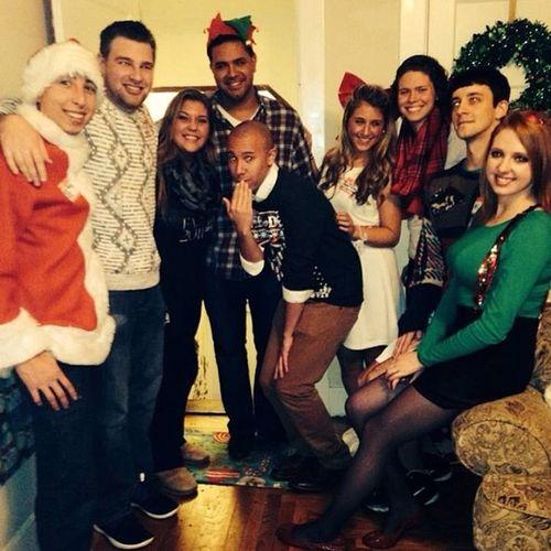 Happy Holidays! Ultimatechristmasparty Nso2013 Orientationambassadors Scsuowlnation owlthat santa reindeer uglysweaters gifts @rach_notes @tomfren lindskim @cschillizzi @jordanienwhat @rodriguezj35 @ambs_17 @camostafin
