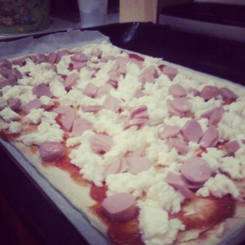Chiara passione cuoca :) Pizza Passion Cook  Wustel red food iloveit love gnam dinner