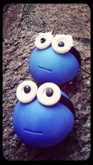 hiperactividad hecha minion... Surprise Gift Sweet Sugar Cupcake