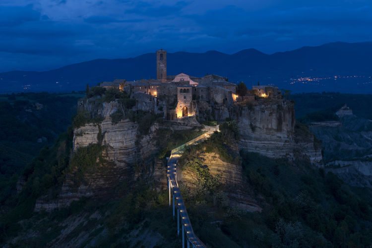 Architecture Civita Di Bagnoregio Cloud - Sky Italia Italy❤️ Lazio Rock Formation Tourism Travel Destinations