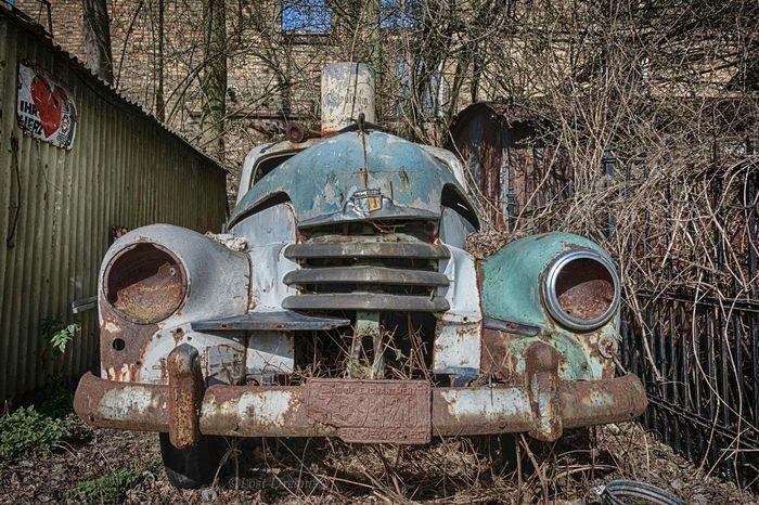 Oldies Car Cars Rost