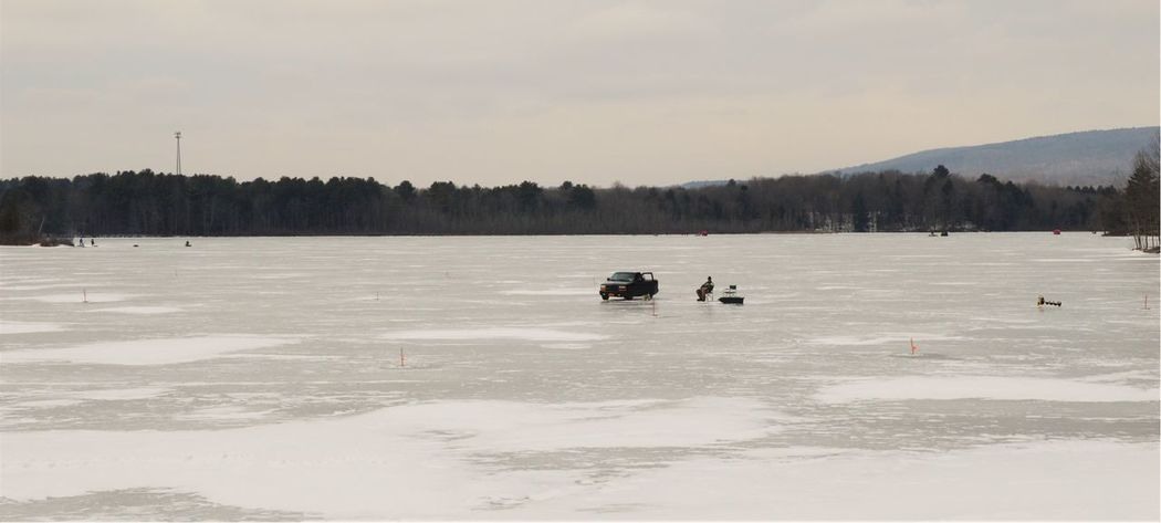 Upstate NY Capture The Moment New York State Nature On A Nice Day Wintertime Photography Nikonphotography Ice Fishing