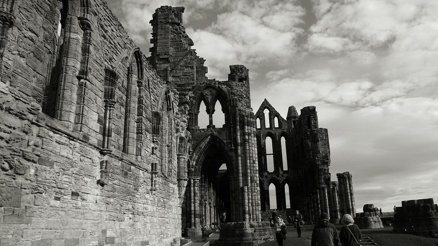 Architecture Built Structure Outdoors Yorkshire Whitby View Whitby Whitby Abbey Whitbyabbey Abbey Ruins