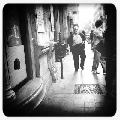 Streetphotography Hipstamatic Blackandwhite Old Man