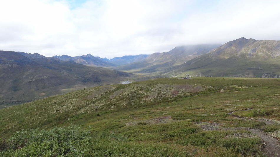 Beauty In Nature Canada Day Dempster Highway Grass Landscape Mountain Mountain Range Nature No People Outdoors Scenery Scenics Sky Tombstone Territorial Park Yukon