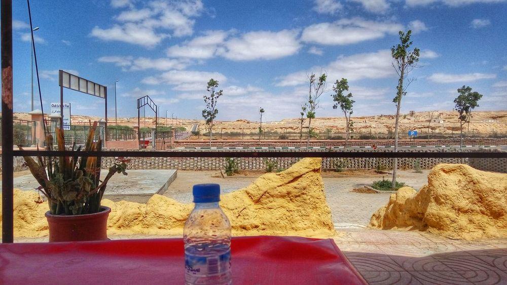 La Belle Vue Bridge Laayoune El Aaiún Sahara River Sakia Elhamra Desert Sand El Aaiún Cafe Sky Cloud - Sky Day