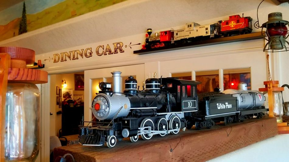 Toy Train Model Train Model Trains Train Engine Train - Vehicle Train Trains Chuchutrain Chuchu Wagon  Restaurant Restaurants Dinning Dinner Dinning Room Steam Steam Train Steampunk Steam Locomotive Steam Engine Steam Trains Steam Traction Engine Steam Train Wheels EyeEmNewHere