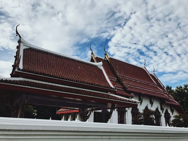 Architecture Built Structure Building Exterior Cloud - Sky Sky Day Roof Outdoors No People Temple Buddhist The Week On EyeEm
