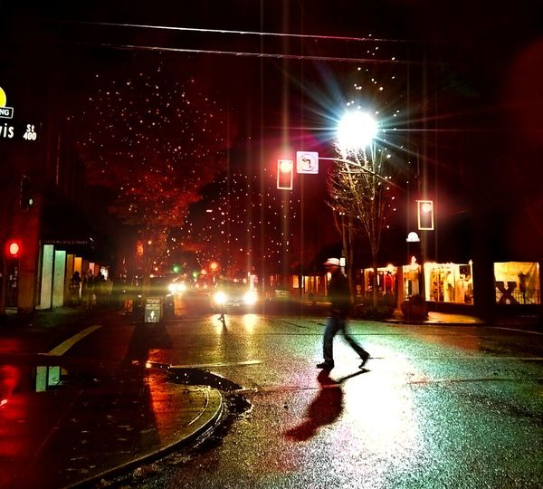 3rd st Rainy Season Wet Oregon Rain Willamette Valley Beauty In Nature Natural Beauty Focus On Foreground I LOVE PHOTOGRAPHY Streamzoofamily Photography Tranquility Halloween_Collection Fall Beauty Fall Photography Fall Collection Leaves_collection 3rd Street Lit Up Halloween Decorations Happy Halloween October Collection Reflection_collection Shine Wet Pavement Crossing The Street People Photography City Illuminated Full Length City Street EyeEmNewHere This Is Strength