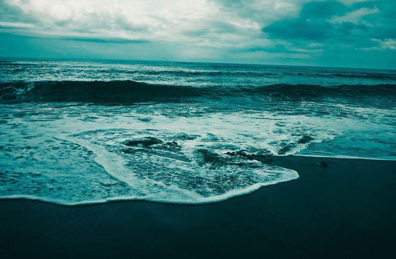 Philippines Wanderlust Vitamin Sea Seascape Seaside Shore Waves La Unión Surfing Spots Surfing Beach Sea Water Sky Beauty In Nature Scenics - Nature Cloud - Sky Horizon Over Water Nature Land Beach Aquatic Sport Surfing Outdoors Motion Wave Horizon