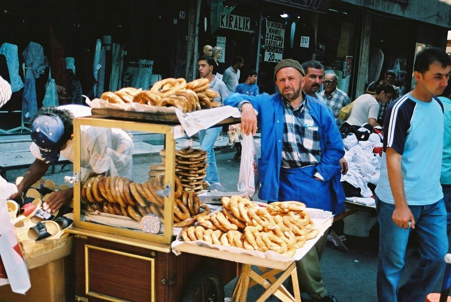 Bread Seller outside Grand Bazaar Bread Seller Breads Business Casual Clothing Composition Food Food And Drink Full Frame Grand Bazaar Incidental People Istanbul Lifestyles Man Market Stall Occupation Outdoor Photography Outdoors Retail  Standing Trader Turkey Working