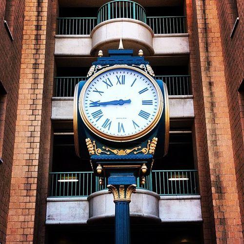 """Bus Station Vintage Clock"" Laredo LaredoTx Vintage Downtown"