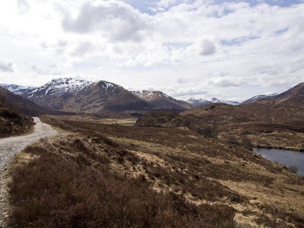 Glen Affric Loch Affric Scotland Walk Beauty In Nature Cloud - Sky Clouds And Sky Day Environment Lake Land Landscape Mountain Mountain Peak Mountain Range Mountains Nature No People Outdoors Range Scenery Scenics - Nature Sight Sky Snow Covered Travel Water Wilderness