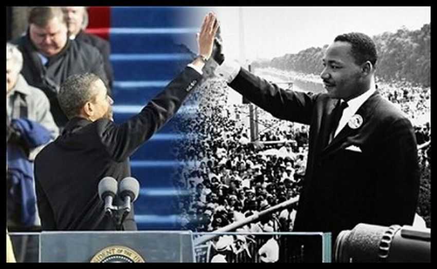 He has truly made history. #Thanks #MLK