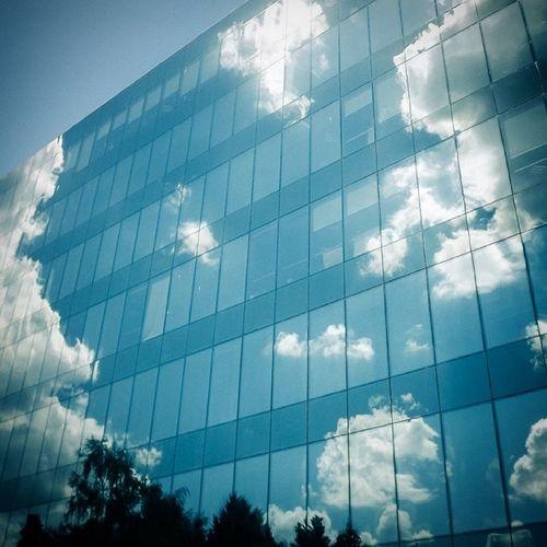 Blue Sky Reflection Ig Igersturkey WorkLife City