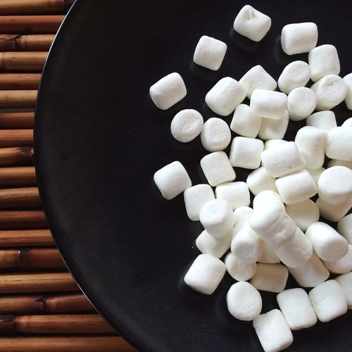 StillLife Kitchen Art Marshmallows Black And White Textureporn