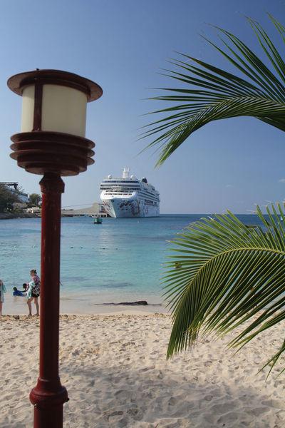 Cruise ship in Ocho Rios (Jamaica) Caribbean Sea Cruise Ship Holidays Ocho Rios Jamaica Ocho Rios Cruise Ship Port Jamaica Ship Tourism
