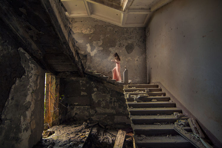 """Look for the light that leads me home""_inspired by my favorite band Breaking Benjamin <3 Abandoned Abandoned Buildings Abandoned Places Art Beautiful Woman Colors Day Fine Art Fine Art Photography Full Length Lifestyles People Rose Dres Rose Dress Ruins Ruins Architecture Ruins Still Beautiful Ruins_photography Spirituality Staircase Steps Steps And Staircases Sun Young Women"