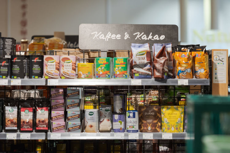 Close-up of food in store