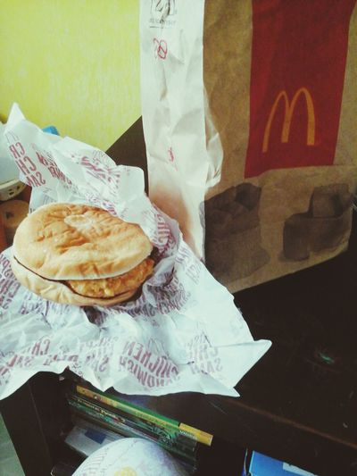 Thank you mom for the burger, fries and nuggets ♥♥♥ ♥ Happy Kiddo :)  Mcdonalds