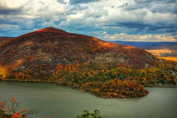 Fujifilm_xseries Fujifilm Breakneckridge Hudson Highlands Storm King Cold Spring Hudson River Hudson Valley New York Cloud - Sky Beauty In Nature Sky Scenics - Nature Water Tranquility Tranquil Scene Mountain Autumn Nature Environment Day Landscape Outdoors