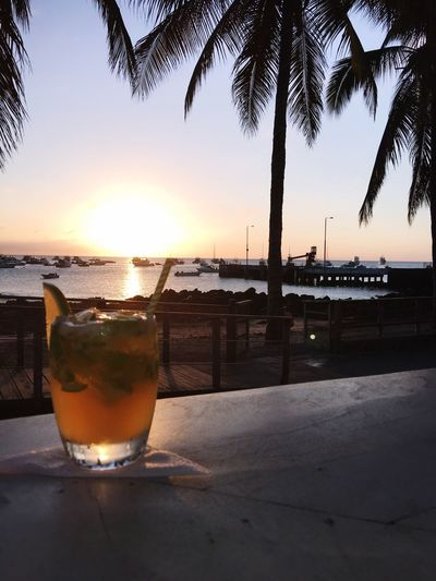 Mojito in the Sunset
