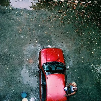 Evening chores... Vscocam Snapitoga Lagos Nigeria streetphotography Africa carwash lagosnigeria