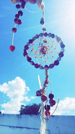 Dreamcatcher Peace Sunny Blue Sky