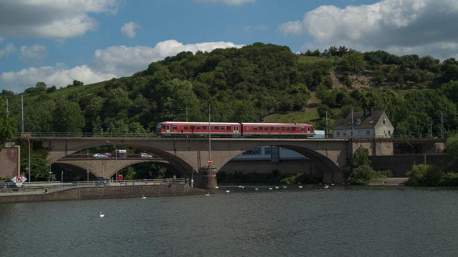 Bridge Brücke Eisenbahnbrüc Pont Railway Bridge