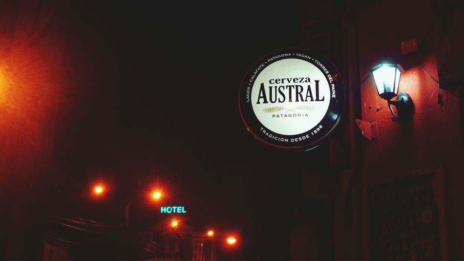 City Lights Bar Night Lights Austral