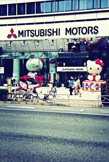 Kitty Hello_Kitty 三菱 Mitsubishi