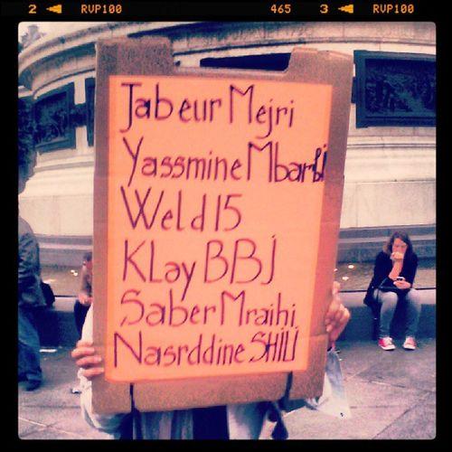 FreeTunisia FreeJabeur WeldEl15 KlayBBJ ...