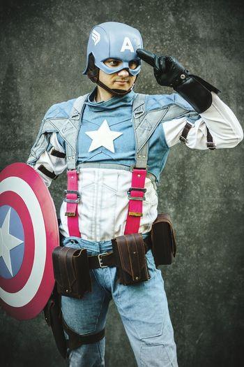 My Captain America Cosplay. Japantag 2015 Düsseldorf. Japantag Düsseldorf Japantag Cosplayer Cosplay Captainamerica Marvel Disney Costume America