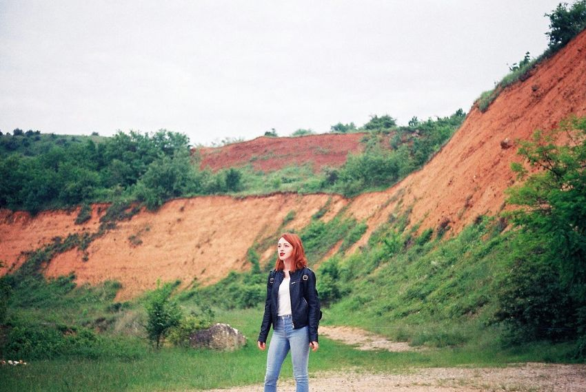 Analogue Photography Analog 35mm Film 35mm Film Film Photography Kodak Zenit Nature Green Eyes Lake Travel Roadtrip Innature Enjoying Life Vivid Colours  Redhead Young Woman Ginger The Week On EyeEm