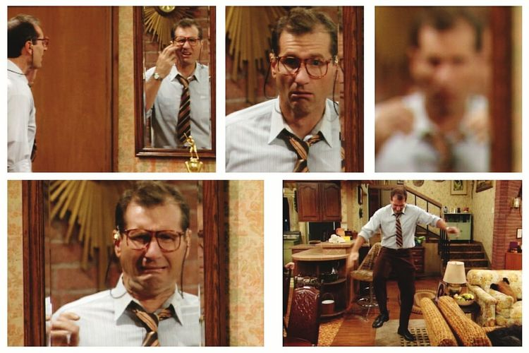 If you know this scene, you know how I feel now 😕 Getting Old Wearing Glasses Now Married With Children Al Bundy