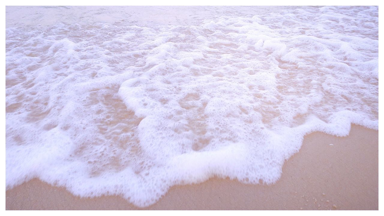 wave, sea, surf, motion, beach, water, shore, power in nature, sand, outdoors, nature, day, no people, breaking, force, crash, beauty in nature, close-up