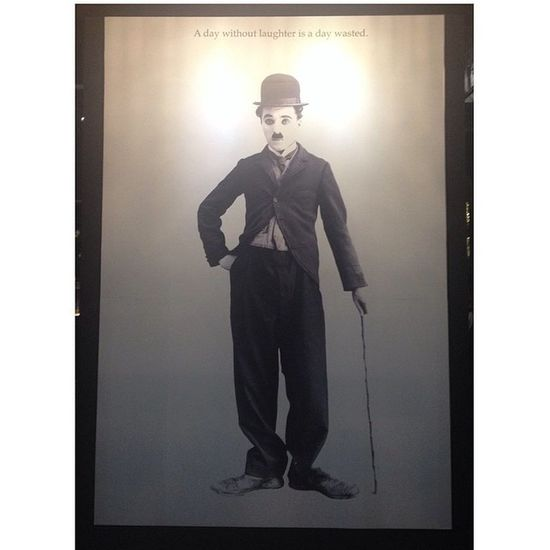There's always a Charliechaplin in ur life.