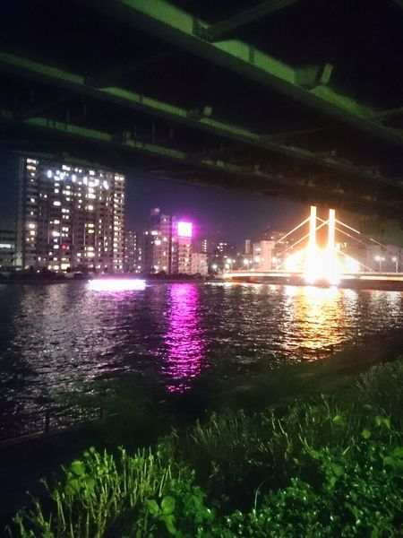 夜さんぽ Nightlights Riverside Summer Relaxing Cool
