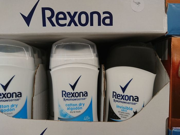 Berlin, Germany - February 3, 2018: Rexona roll-ons deodorants. Rexona is a deodorant and antiperspirant brand founded in Australia and manufactured by Unilever Hygiene Supermarket Antiperspirant Close-up Deodorant  Deodorants Fragrant Hygienic No People Retail  Rexona Roll On Scent Smell Smelling Smellsgood