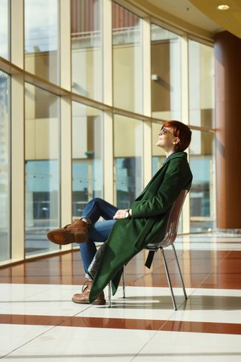 One Woman Only Only Women Full Length One Person Adults Only Side View Adult People Women Well-dressed Window Smiling Indoors  Fashion Photography Fashion Style Helios Helios44