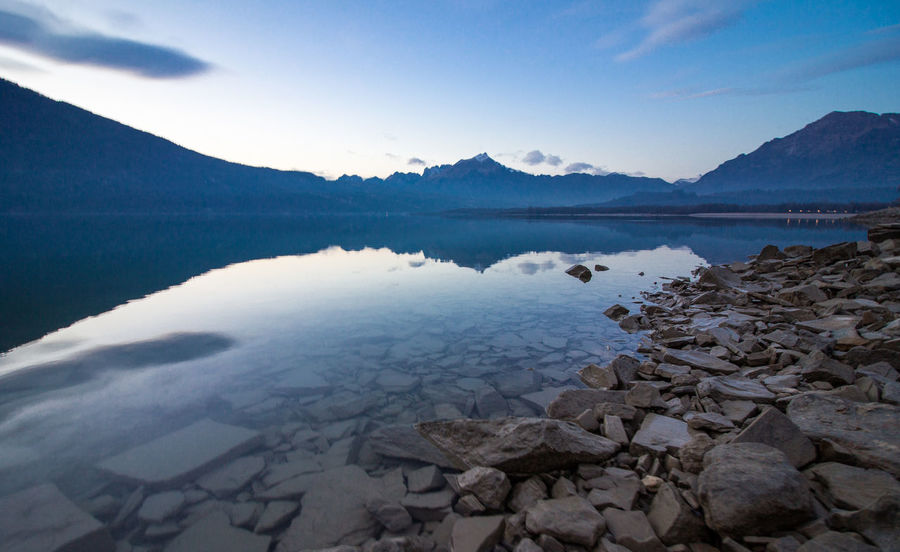 Belluno Blu Hour Cool Beauty In Nature Blu Sky Blue Close-up Day Italy Italy❤️ Lake Landscape Mountain Mountain Range Nature No People Outdoors Reflection Scenics Sky Tranquil Scene Tranquility Veneto Water