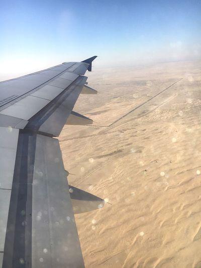 Flugzeug Dubai