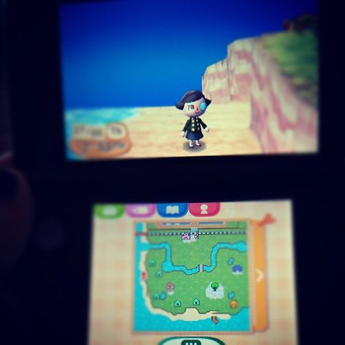 Look what I got yesterday!!! Gaming 3dsxl Ac :nl Animalcrossing newleaf yay fun